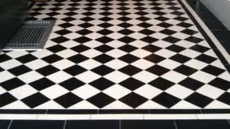 Black And White Ceramic Floor Tile Black White Ceramic Tile Home Decorating Ideas