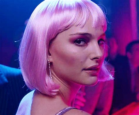 Natalie Pink wig gif find on giphy