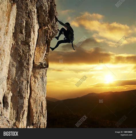 Rock Climber Image Photo Bigstock Rock Climbing Log Book Template