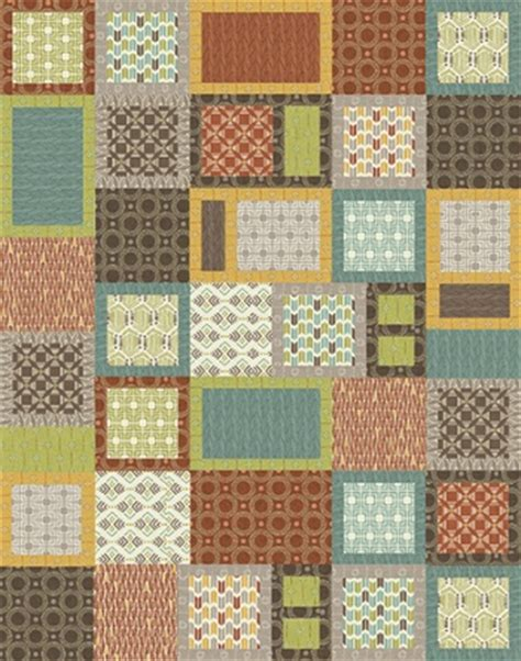 Free Modern Quilt Patterns by Modern Quilt Free Pattern By Benartex Project