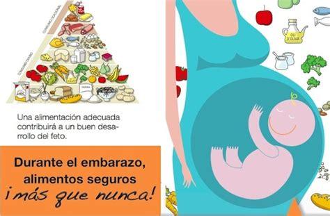 la alimentacion durante el embarazo