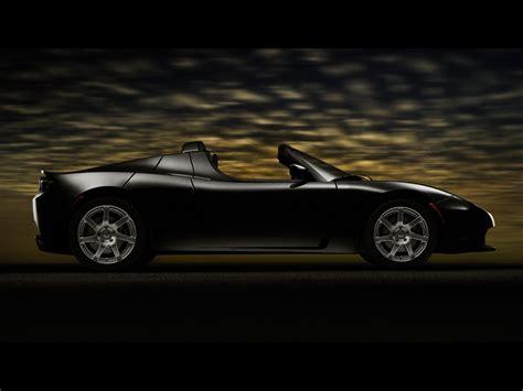 Tesla Roadster Wallpaper 2007 Tesla Roadster Side 1600x1200 Wallpaper