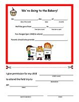 Permission Letter For Going To Picnic free printable daycare forms field trip forms