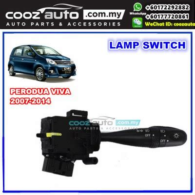 Spare Part Perodua Viva perodua viva 2007 2014 turn signal fog light l