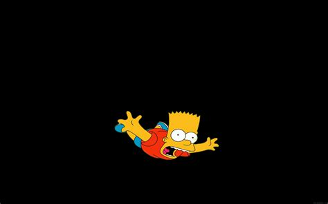 funny wallpaper for macbook pro ag70 bart simpson funny cute illlust