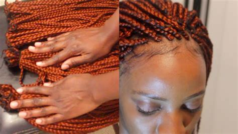 pictureof sewin braids sewing box braids youtube