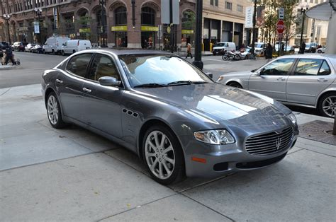 maserati 2007 for sale 2007 maserati quattroporte sport gt automatic stock