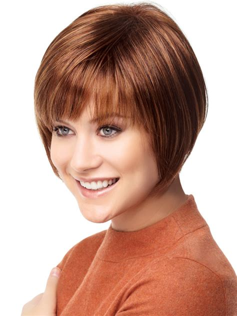 wigs for thin bangs styles gabor folly short bob with bangs wigs com the wig