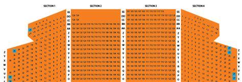 ohio theater seating chart ohio theatre seating chart