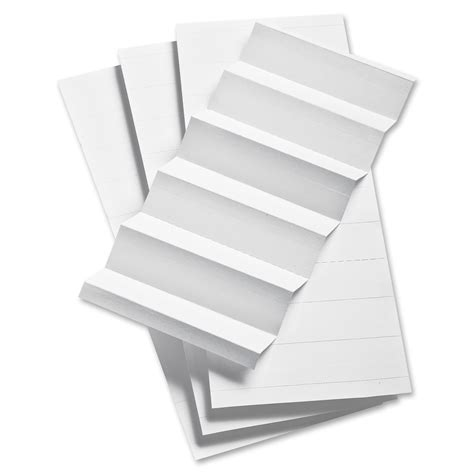 file tab template pendaflex 1 3 cut hanging file insert strips r r office