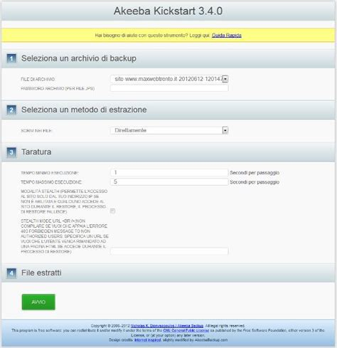 kickstart template kickstart php