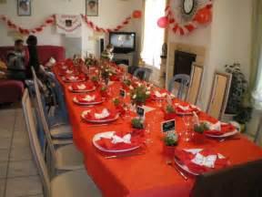 decoration de table pour anniversaire adulte d 233 coration pour anniversaire 40 ans blanc et rouge photo