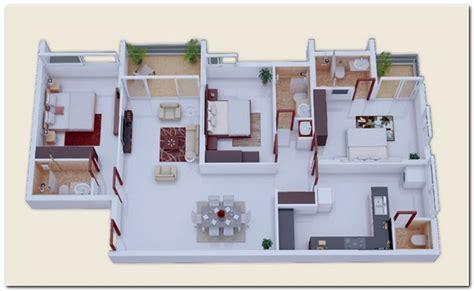 sketsa rumah minimalis 3 kamar tidur warnacat net