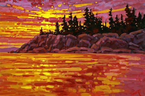 Landscape Artists In Canada Western Landscape Paintings Ken Gillespie Sfca