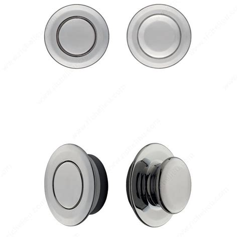 Recessed Door Knob Wall Protector by Recessed Magnetic Handle With Knob Richelieu Hardware