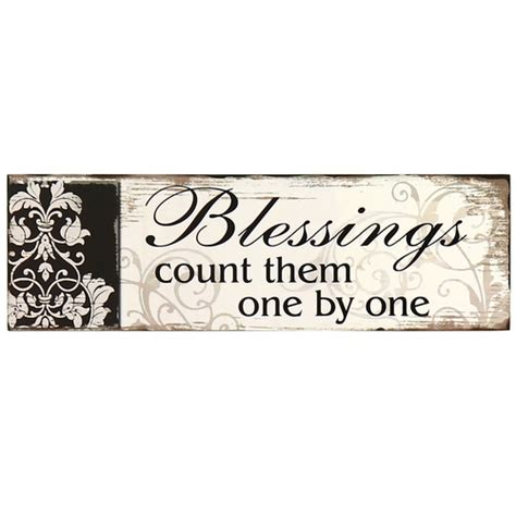 decorative signs for your home adeco decorative wood wall hanging sign plaque quot blessings
