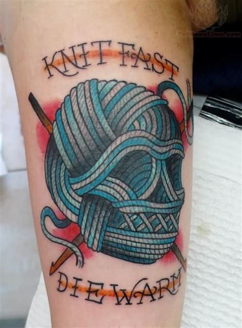 knitting tattoos designs knitting images designs