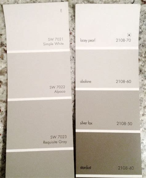bm abalone or sw requisite gray color palettes pewter paint colors and revere