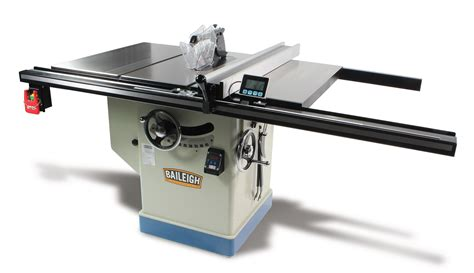 table saw professional cabinet table saw ts 1248p 36 baileigh industrial