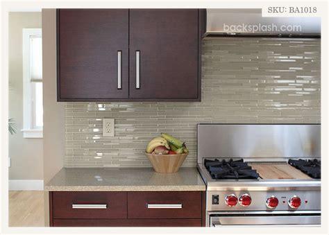 light backsplash light brown color glass brick mosaic tile