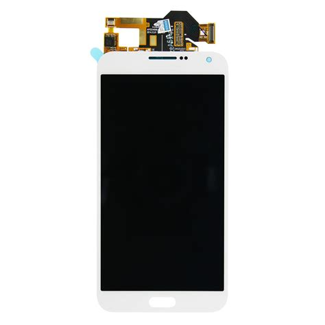 Lcd E7 white samsung galaxy e7 lcd touch screen digitizer assembly