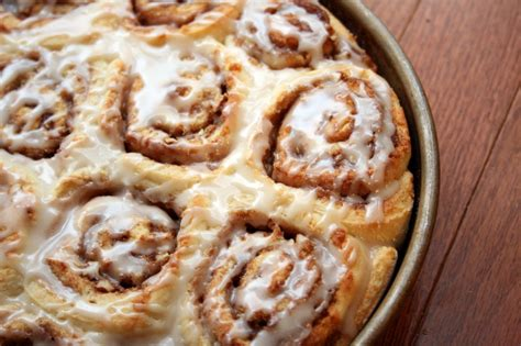 the creative place food cinnamon rolls