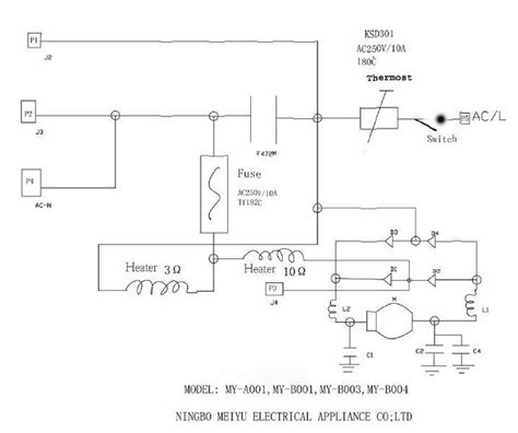 circuit diagram of coffee machine circuit and schematics