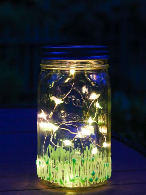 How To A Firefly Jar Nightlight Diy