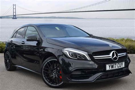 mercedes a class amg black mercedes a class amg a45 4matic 5dr auto for sale at