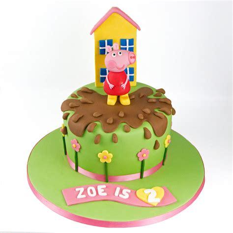 peppa pug cake peppa pig cake