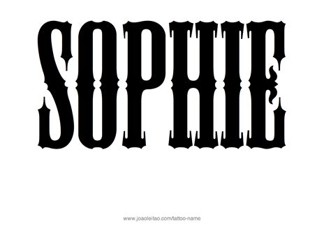 sophie tattoo designs design name 20 9 png