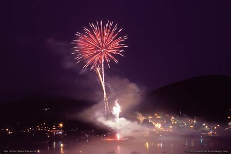 fishing boat harbour fireworks bar harbor july 4th fireworks with harbor boats