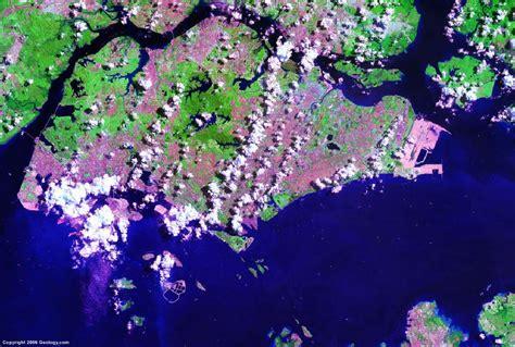 singapore map satellite view singapore map and satellite image