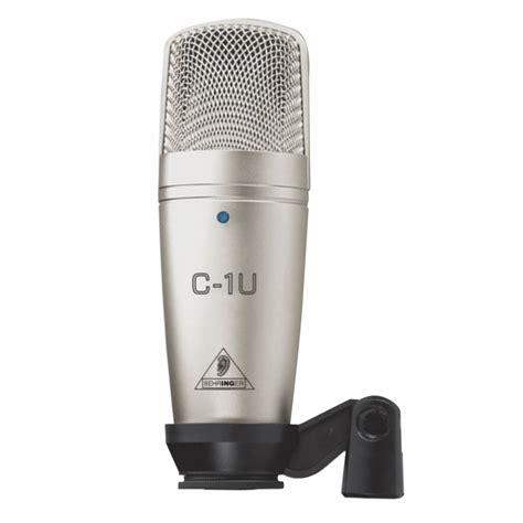 Behringer C1u Usb Condenser Microphone Behringer C1u Usb Studio Condenser Microphone Usb