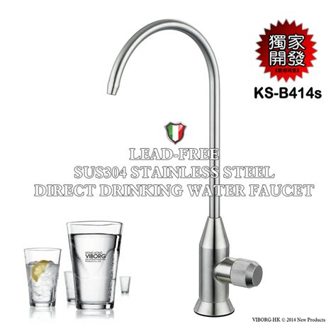 Water Filter Faucet Stainless Steel by 304 Stainless Steel Kitchen Filtered Water Filter