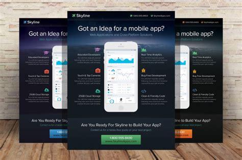 mobile app marketing plan template 27 marketing flyer templates free premium
