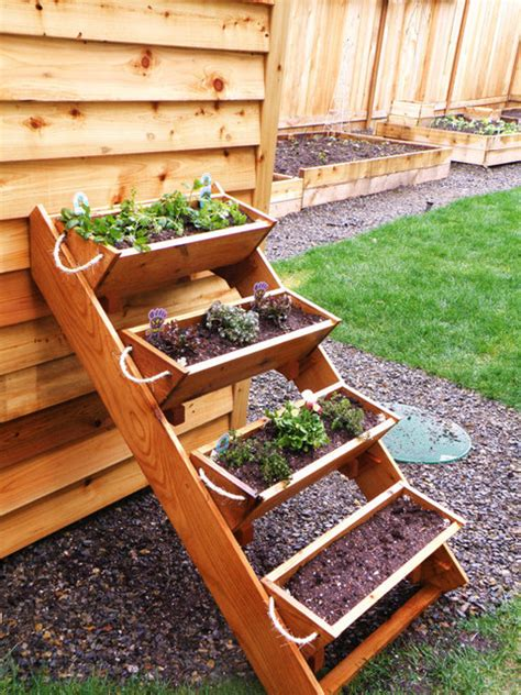 herb garden box 36 inch cedar gardening window box planter by roped on