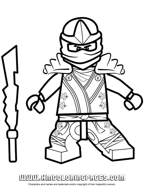 ninjago coloring pages of jay ninjago jay kx coloring page h m coloring pages