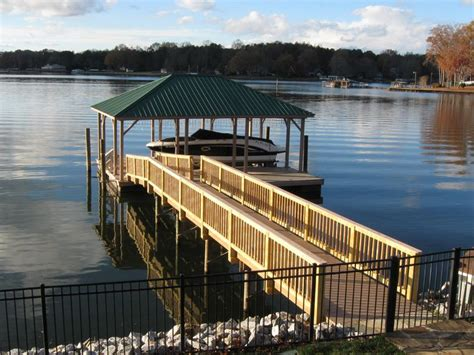 boat lift repair lake norman dock services of lake norman
