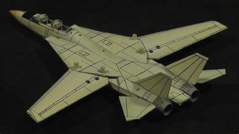 How To Make A Realistic Paper Airplane - f 14 tomcat real paper flight