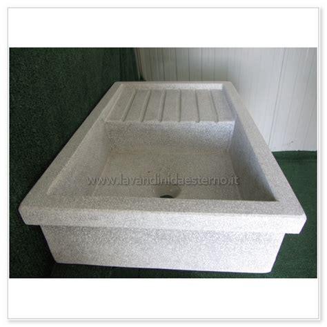 lavelli in graniglia per cucina lavello da giardino acquaio in graniglia levigata 50