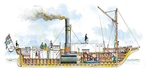 barco de vapor que es nuevo barco de vapor en el g 246 ta kanal el rastreador de