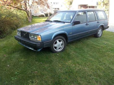 sell used volvo 740 turbo wagon manual trans 1 owner
