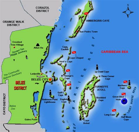 tourist map of belize maps update 10241454 belize tourist attractions map