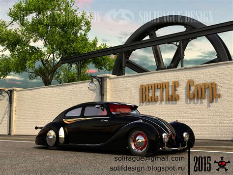 volkswagen beetle modified black solifague design vw beetle custom black edition
