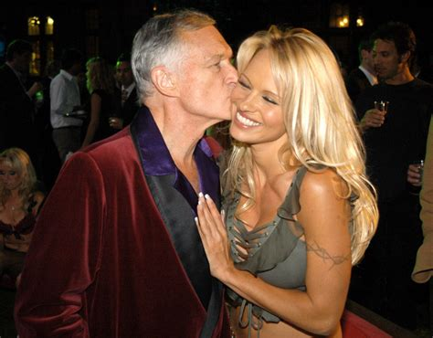 Hefner Thrilled About Pam Andersons Divorce by Hugh Hefner And During The Official Launch