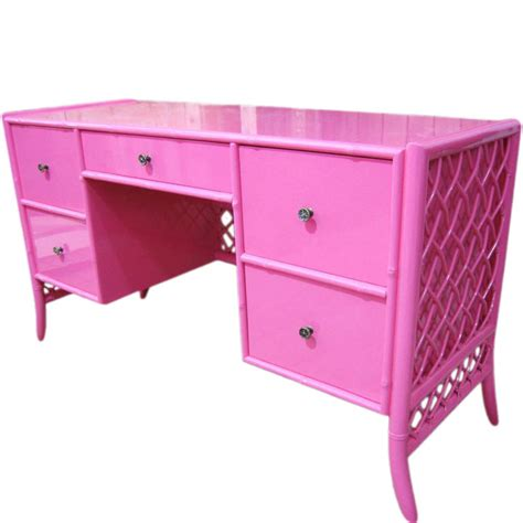 Pink Vanity Desk by Kris Likes The Pink Of Perfection Kristen Laird Design