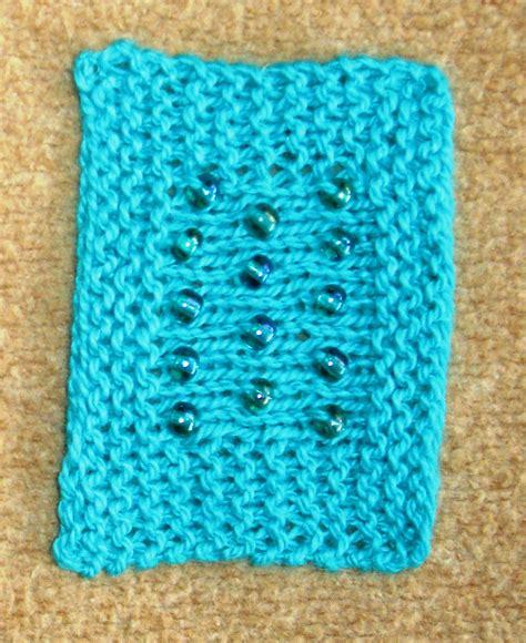 bead knitting kiwi knits a pairing knitting and