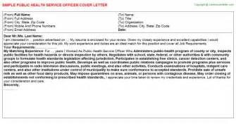 Health Officer Cover Letter by Health Service Officer Cover Letter Sle