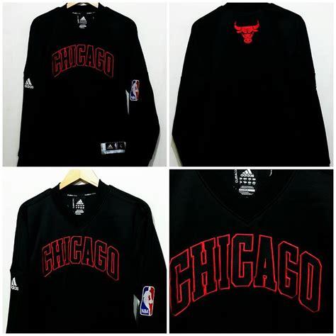 Sweater Basket Nba Chicago Bulls Black Hitam 02 23 16 jual jaket basket nba murah